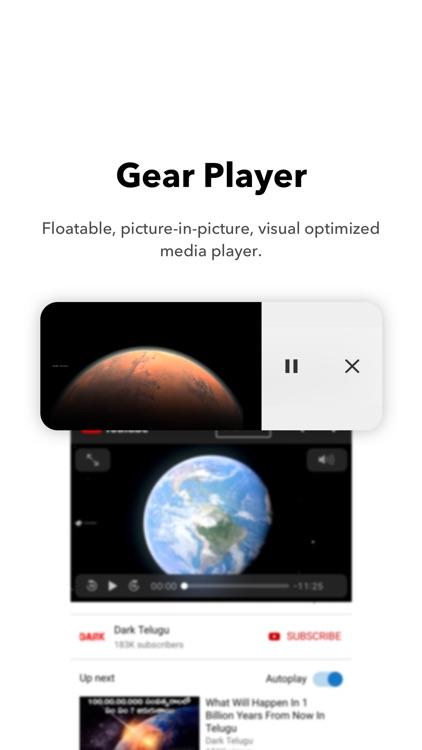 Gear Browser screenshot-3