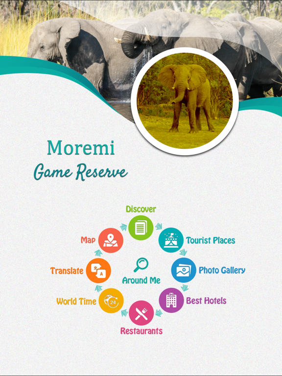 Moremi Game Reserve screenshot 7