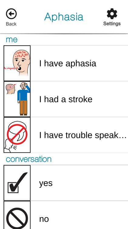 SmallTalk Aphasia Female