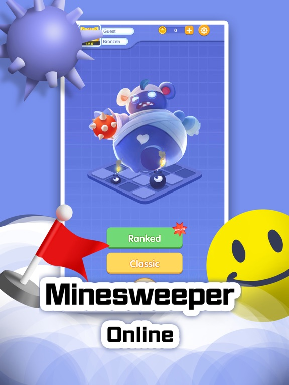 Mine Clearance Online: Retro screenshot 1