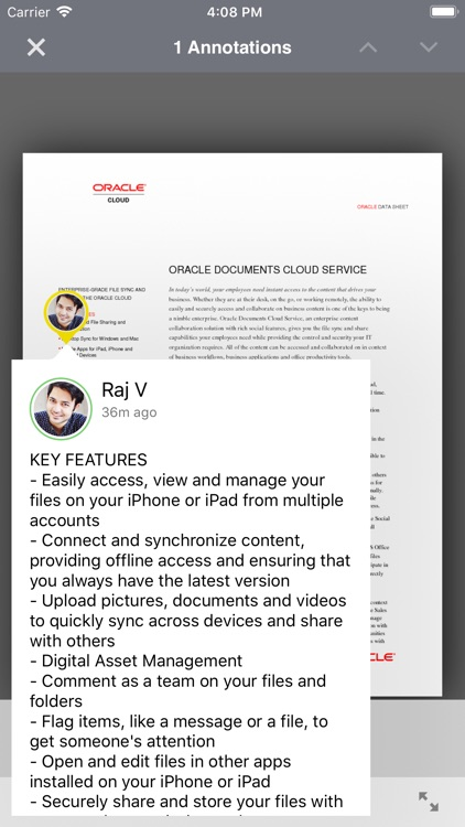 Oracle Content screenshot-4