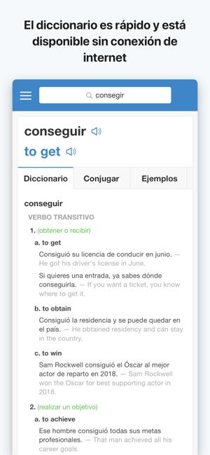 Traductor Spanishdict En App Store