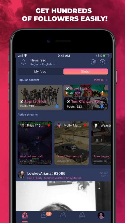 PLINK - Connecting Gamers screenshot-4