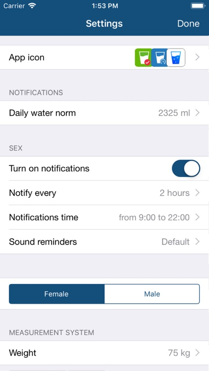 Drink Water Reminder & Counter screenshot-4
