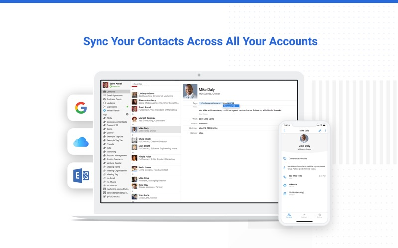 Contacts+ | Contact Manager for Mac