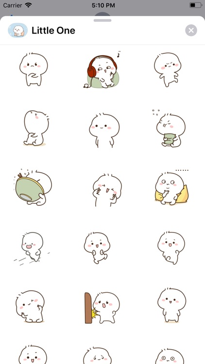 Little One Animated Stickers screenshot-4