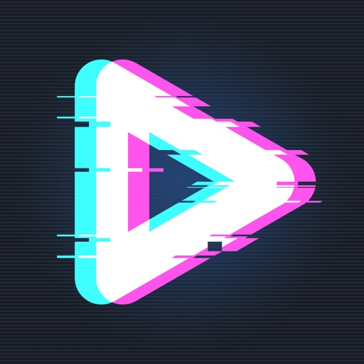 90s -Glitch Vaporwave Video FX App for iPhone - Free