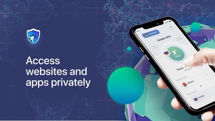 Satellite VPN: Secure Browsing