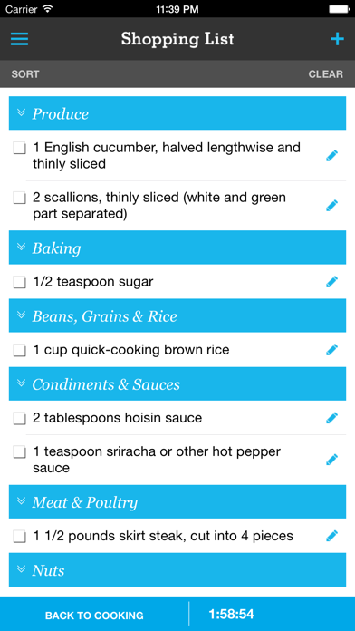 Pepperplate Cooking Planner review screenshots