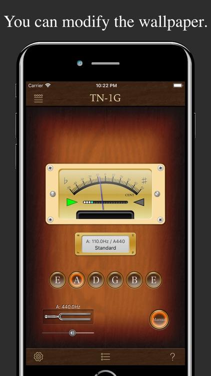 Guitar Tuner TN-1G screenshot-4