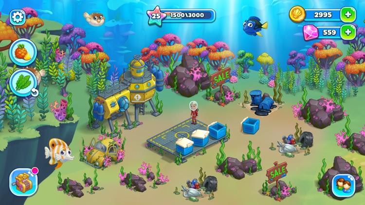 Aquarium Farm: mermaid story screenshot-3