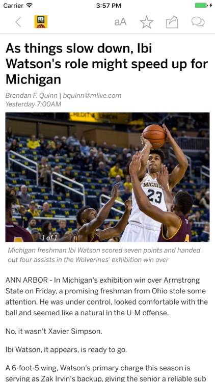 Wolverines Basketball News