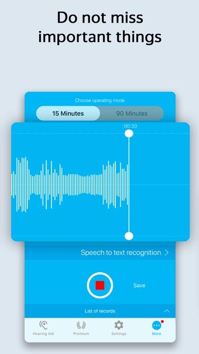 Petralex Hearing Aid App Screenshot