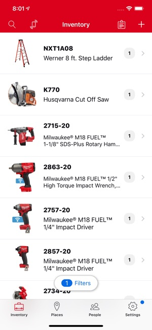 Milwaukee® ONE-KEY™ on the App Store
