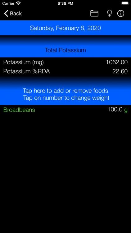 Potassium Counter and Tracker screenshot-4