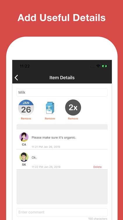 Listington: Simple To-Do Lists screenshot-4
