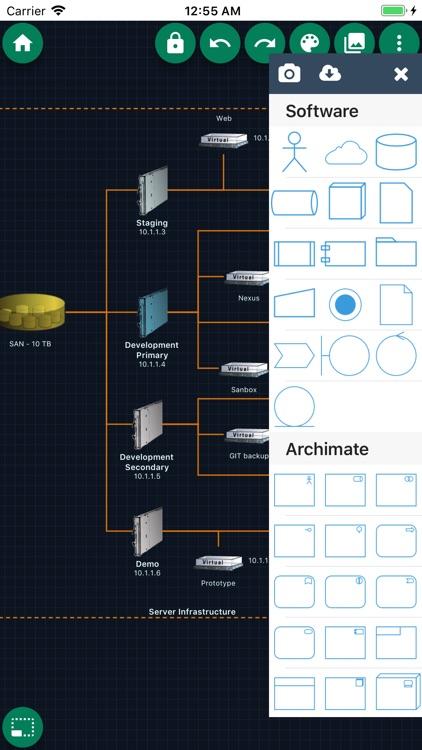 DrawExpress Diagram Lite screenshot-4