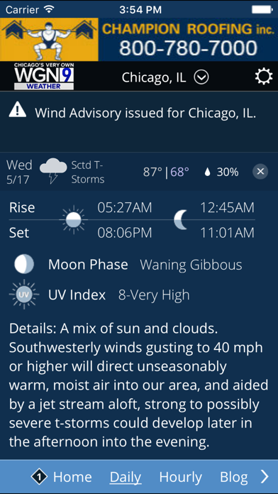 Wgn Tv Chicago Weather review screenshots
