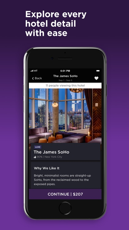 HotelTonight - Hotel Deals screenshot-1