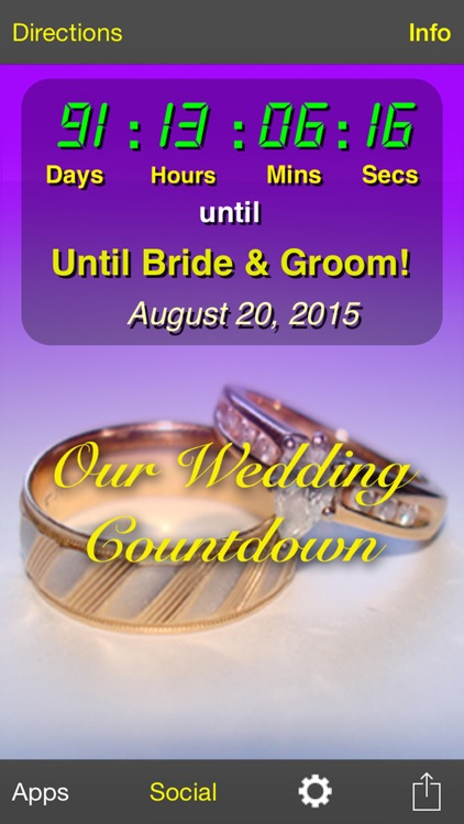 Our Wedding Countdown