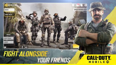 Screenshot of Call of Duty®: Mobile App