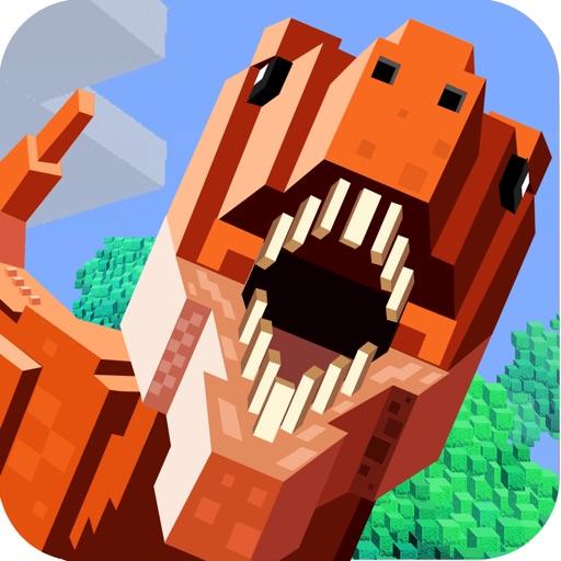 Jurassic Pixel Dinosaur Craft
