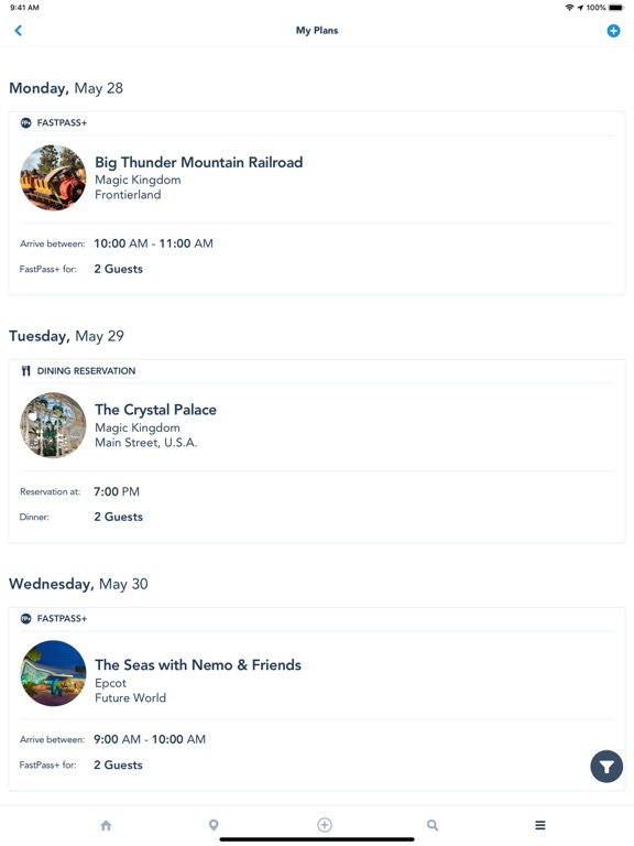 My Disney Experience-ipad-4