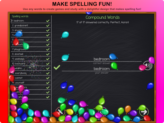 Super Speller: Create Your Own Spelling Tests screenshot
