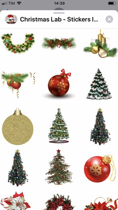 Screenshot #2 pour Christmas Lab - Stickers Image