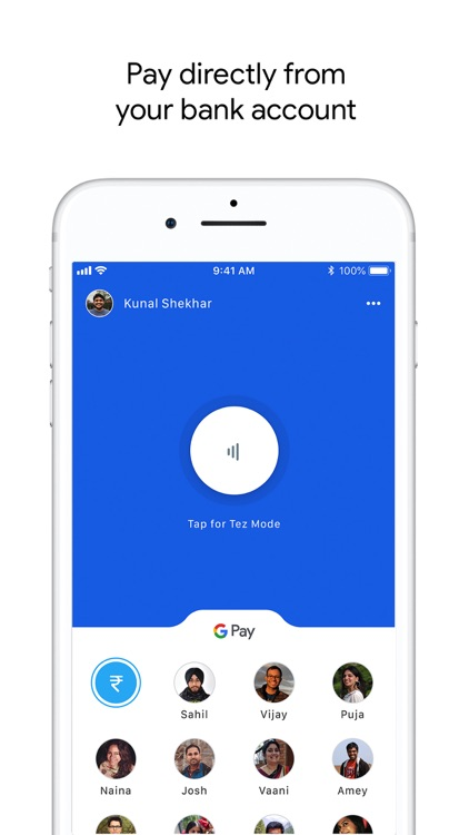 Google Pay for India (Tez)
