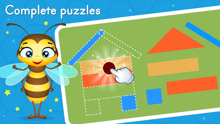 Preschool learning games - Bee screenshot-1