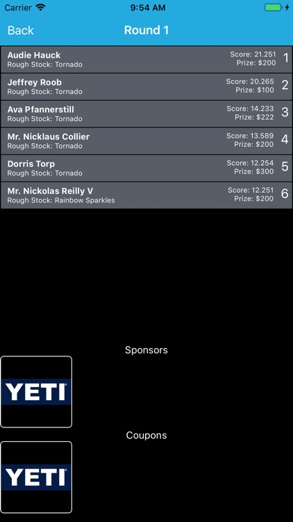 RodeoResults screenshot-4