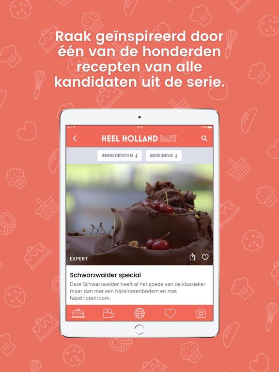 Heel Holland Bakt iPad app afbeelding 6