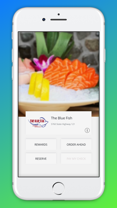 The Blue Fish screenshot 1