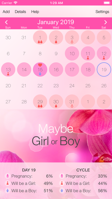 Screenshot for Best Menstrual Period Tracker in Hong Kong App Store
