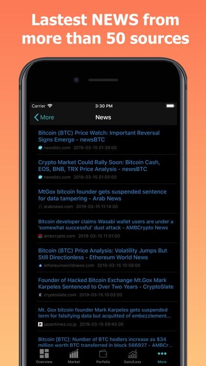 CoinPrice - Crypto Market screenshot-8