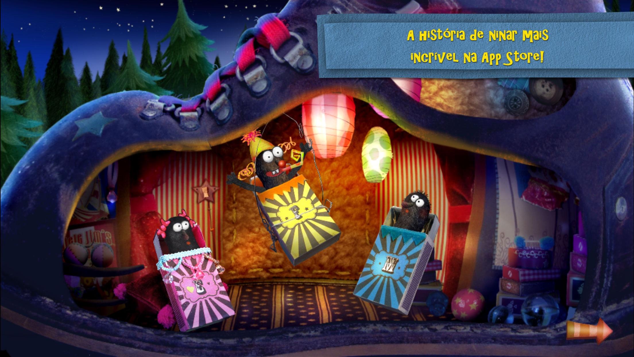 Screenshot do app Boa Noitinha Circo