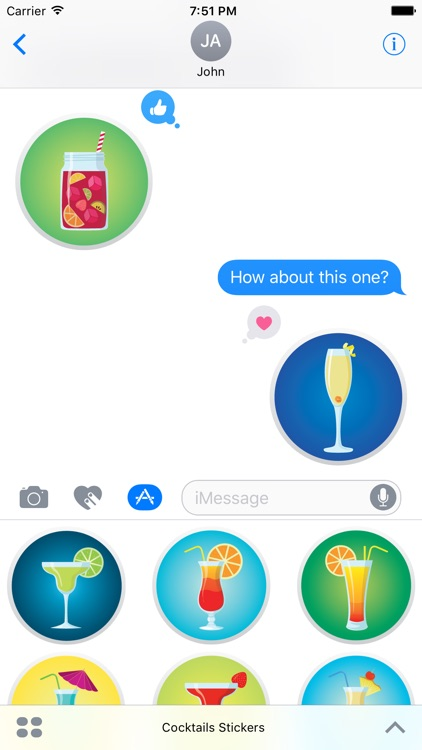 Cocktails - Stickers
