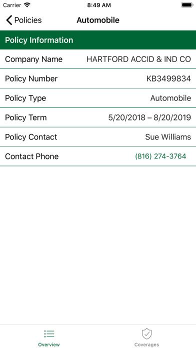 Associated Insurance screenshot two