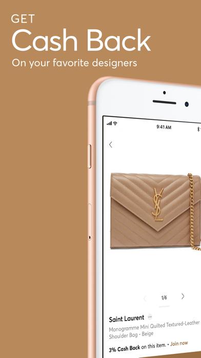 Screenshot #1 pour ShopStyle: Fashion & Cash Back