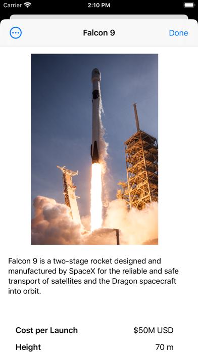 SpaceX Explorer screenshot 6