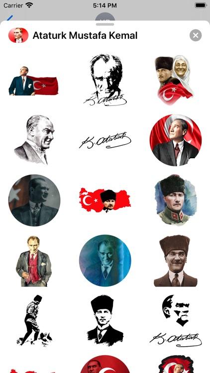 Ataturk Mustafa Kemal Stickers screenshot-3