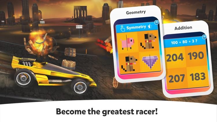 Cool Math Games: Kids Race Car screenshot-5
