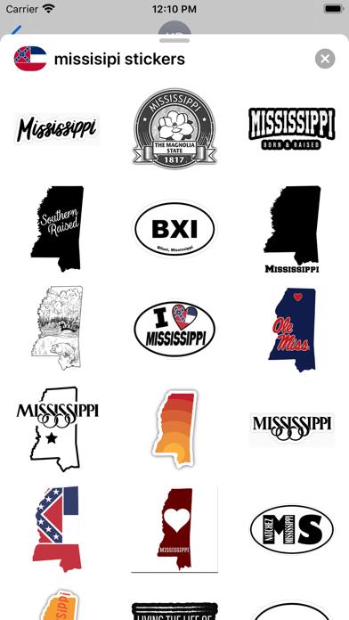 Mississippi - USA stickers screenshot 2