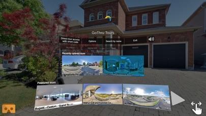 Screenshot of GoThru 360 Panorama Navigator1