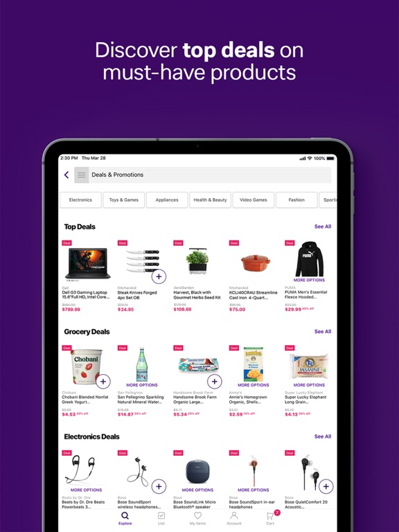 Jet: Online Shopping App for Discounts on Grocery Items, Furniture & Home Goods screenshot