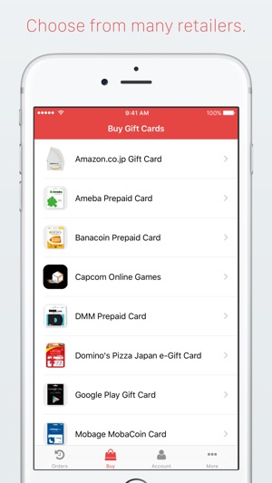 Google Play Gift Card Japan - Obland
