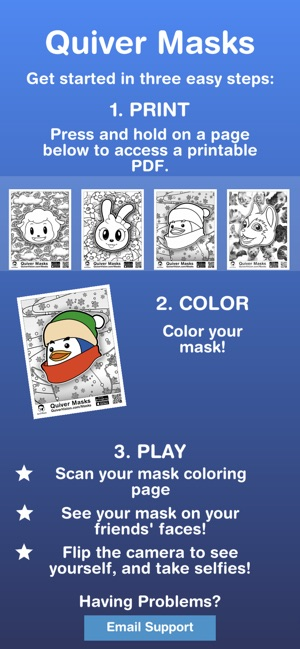 Quiver Masks On The App Store