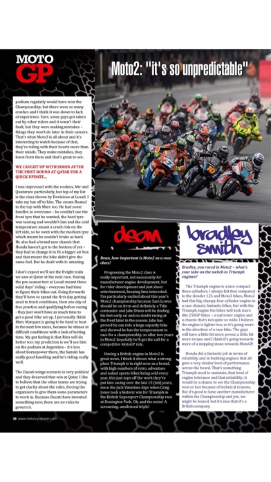 Motorcycle Racer Magazine screenshot 5