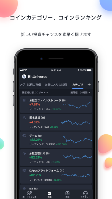 BitUniverse - 仮想通貨,ビットコイン価格 - 窓用